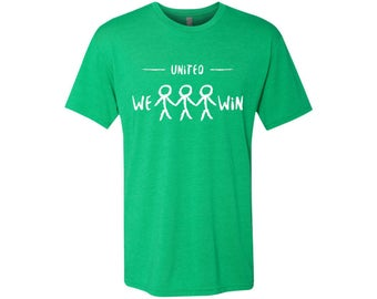 United We Win Men's Global Peace T-Shirt