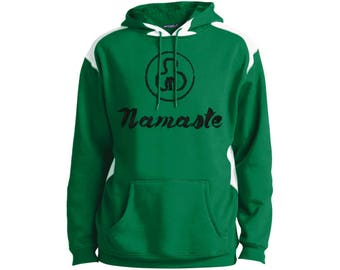 Namaste Men's Shrink-resistant Hooded Pullover