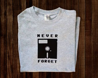 Never Forget Floppy Disc Tee