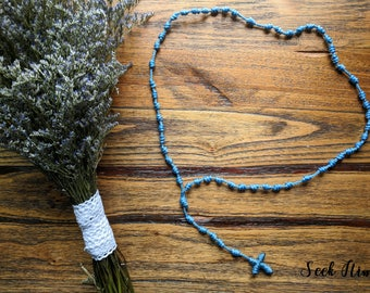 Knotted Rope Rosary - Cord Rosary