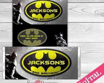 Batman Candy Bar wrapper