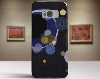 """Wassily Kandinsky, """"Several Circles"""". Samsung Galaxy S7 Case LG G6 case Huawei P10 Case Galaxy J5 2017 Case and more. Art phone cases."""