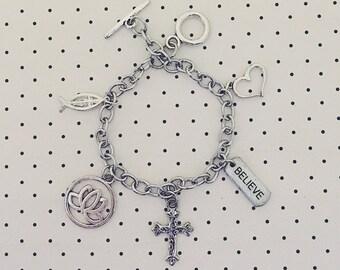 Christian Charm Bracelet