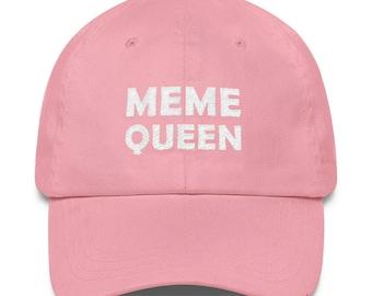Meme Queen Embroidered Hat Dank Memes Forever