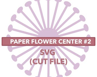 Flower Center #2 SVG File
