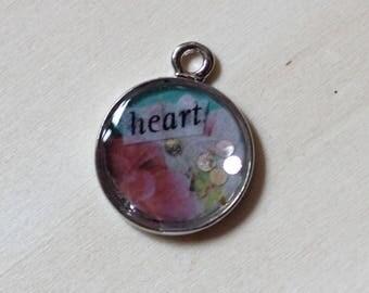 Heart Small Handmade Pendant