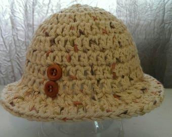 Handmade cap and bootie set