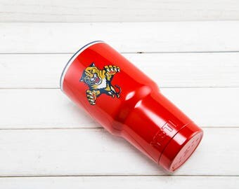 Florida Panthers YETI Cup  Florida Panthers Cup Florida Panthers Birthday Florida Panthers Gift Florida Panthers Party YETI Tumbler