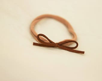 Saddle Brown Nylon Headband