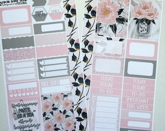 Staycation * NON-FOILED PERSONAL Sized Planner Sticker