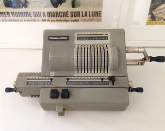 ORIGINAL - 239 ODHNER calculator. Made in Sweden from 1955 to 1967. In working condition.