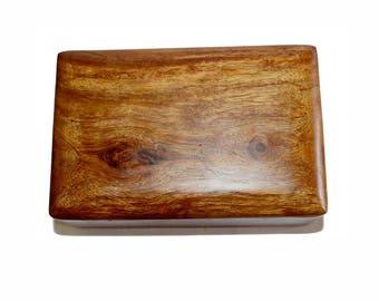 Vintage Wooden Box. Standard Tarot Size. Wooden Box. Vintage Box. Storage. Vintage Storage. Tarot Box. Card Storage Box. Trinket Box. Tarot