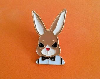 Bunny bow tie pins