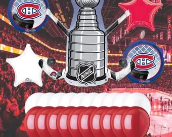 Montreal Canadiens 25 piece Balloon Kit