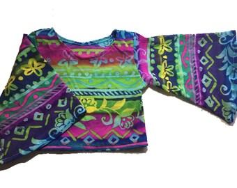 bell sleeves top