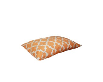 Orange Pet Pillow Bed