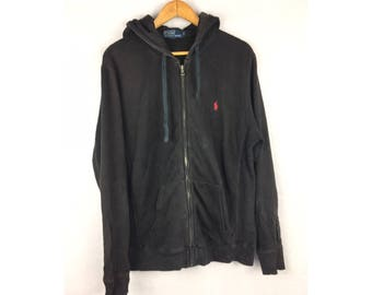 POLO by Ralph Lauren Hoodies Medium Size Hoodies Fully Zipper with Small Embroiled Logo
