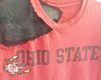 Ohio State Shirt - Ohio State Buckeyes Shirt - Ohio State Buckeyes Tshirt - Ohio State Football Shirt - Ohio State Women - Buckeyes Shirt -