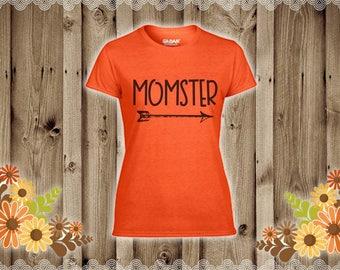 Fall Halloween Momster shirt
