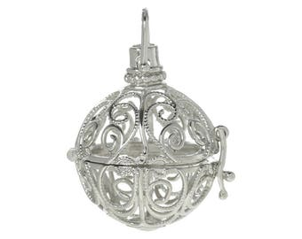 Mexican Bola Cage pendant
