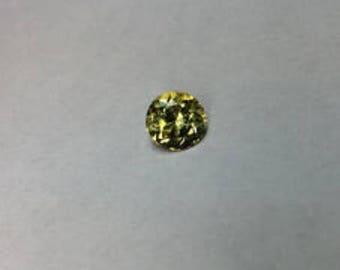 1 ct Natural Yellow Tanzanite