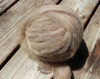 Shetland roving - 4 oz ball