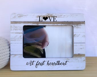 Ultrasound Frame Sonogram Frame Baby Shower Gift Pregnancy Frame