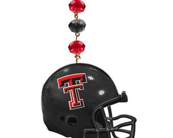 TEXAS TECH University *Helmet* MAGNETIC Ornament Red Raiders Home Decor,Texas Tech Home Decor,Red Raiders Ornament,Red Raiders,Texas Tech