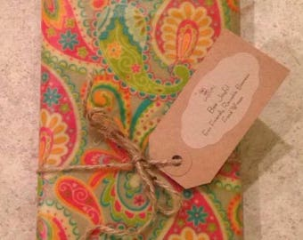 One X-Large * Beeswax Food Wrap * Eco Friendly * Reusable * 13 in x 18 in * Bee Joyful Shop