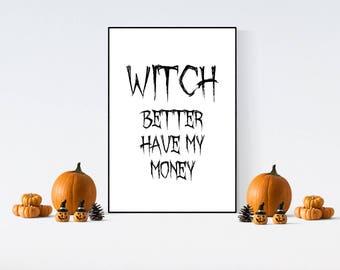 halloween cards halloween prints halloween decor halloween puns home decor home - Halloween Pubs