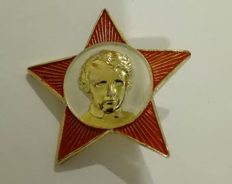 School Uniform Badge. USSR Octobrist.