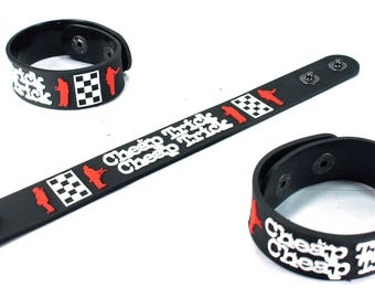 Cheap Trick New! Rubber Bracelet Wristband I Want You To Want Me Ctk192Na