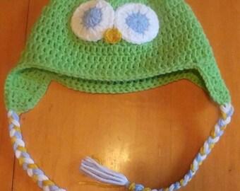 Owl hat / Tuque hibou