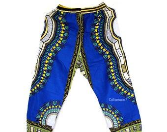 Dashiki Pants Blue