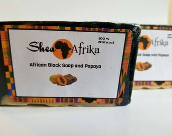 African Black Soap and Papaya