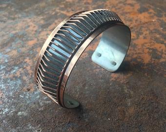 Vintage Renoir Copper Cuff Bracelet