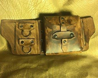 Utility belt pouch