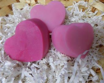 Strawberry Sugar Scrub Soap Bar