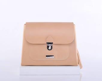 Natural Esther Crossbody Bag