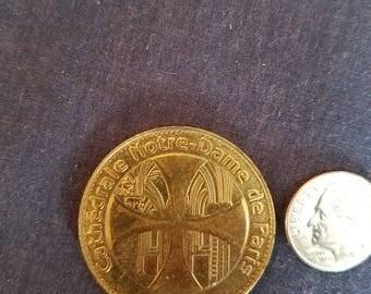 2006 Brass Notre Dame Coin
