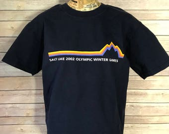 Salt Lake 2002 Olympic Winter Games T-Shirt (M)
