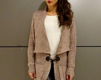 Oversized Cardigan/Knit Cardigan/Wool Cardigan/Oversized Coat/Plus Size Cardigan/Cardigan Sweaters/Long Cardigan/Womens Cardigan/YANORA