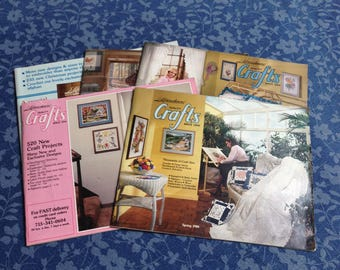 80's Craft Catalogs-Free US Shipping