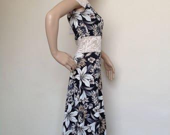 Argentine tango dress in medium size