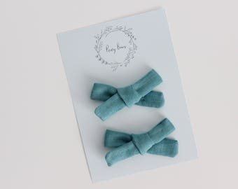 Pigtail set | teal