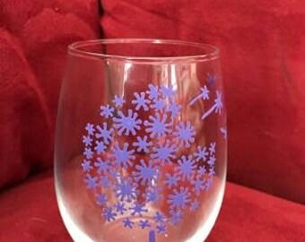 Make A Wish Glasses Purple