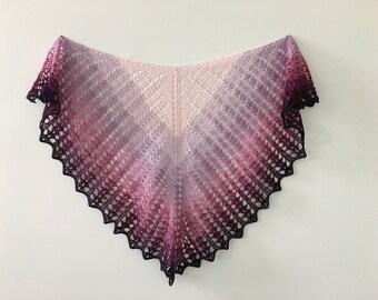 Purple Melodyy Shawl / Wrap / Scarf