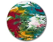 Original abstract paintin...