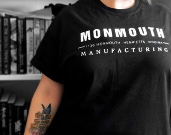 Monmouth Manufacturing - The Raven Cycle Inspired Tshirt