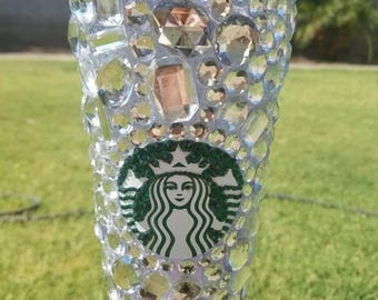 Big BLING Starbucks Cold Cup